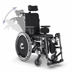 Cadeira de Rodas Reclinável AVD Alumínio - Ortobras